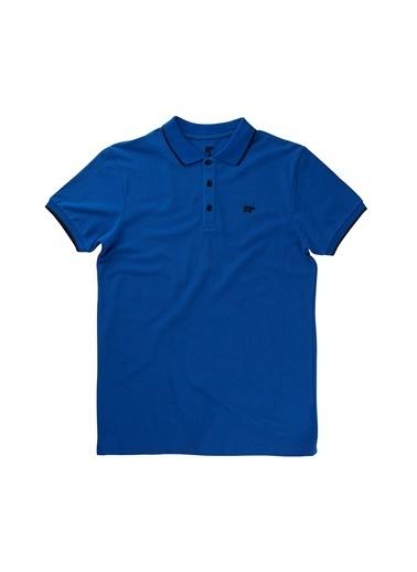 Bad Bear Erkek Lıne Pıque Polo Tişört 19.01.07.037 Mavi